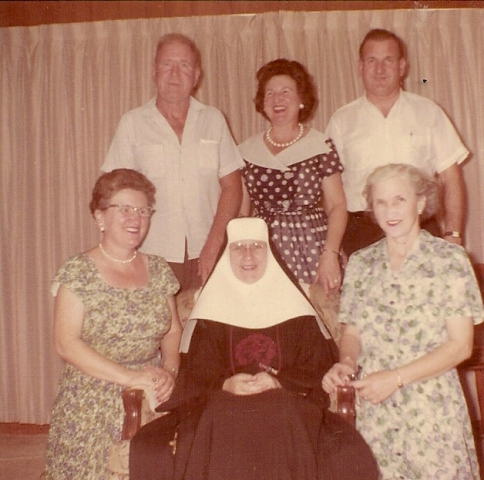 MAURA - (b10/28/04) -who became Sister Mary Michael of the Sisters of